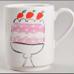 "Kate Spade Lenox ""Pretty Pantry Cake"" Mug LAST ONE"